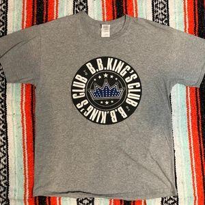 BB KINGS CLUB T-Shirt sz L